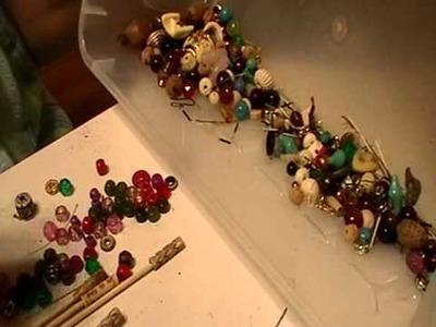 Nancy Today: 3 bobbin beads for bobbinlace ASMR Blen