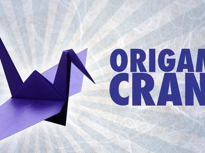 Origami Crane (Folding Instructions)