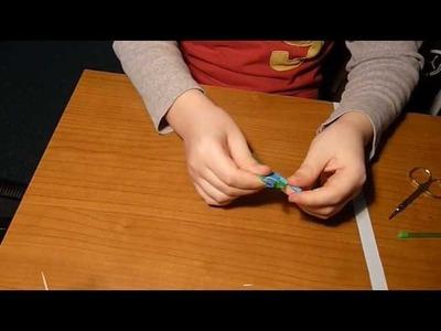 Origami heart of straws-cuore di cannucce DENIS
