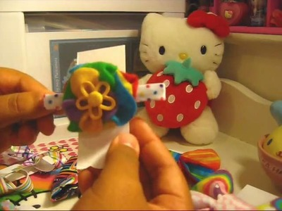 Rainbow Hair Accessories & Beaded Stick Pins