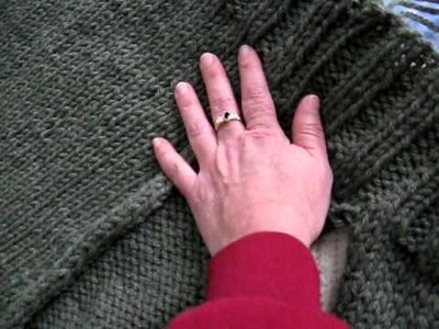 Saturday Morning Hoodie Pockets decoded : Knitting a pattern