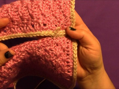 Stitchopedia ~ Join~as~you~go Single Crochet with Motif Joining