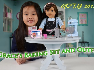 The 2015 American Girl Doll of the Year (5) - Grace's Baking Set & Outfit