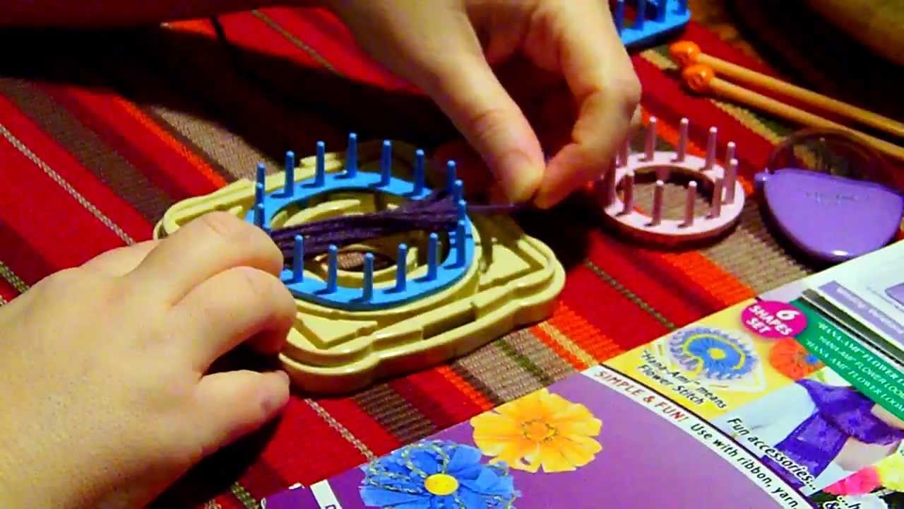 The Hana-Ami Flower Loom Tutorial