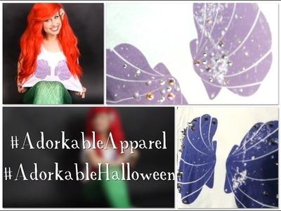 Adorkable DIY Halloween Series: Mermaid Bling!