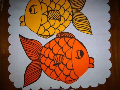 Art.Craft Activity - Susan Sparkles makes 3D fish