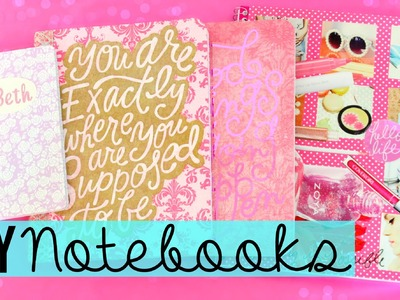 Back To School DIY: Personalize Your Notebooks