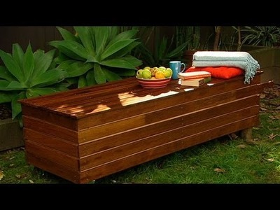 Better Homes and Gardens - DIY: how to make an outdoor bench seat