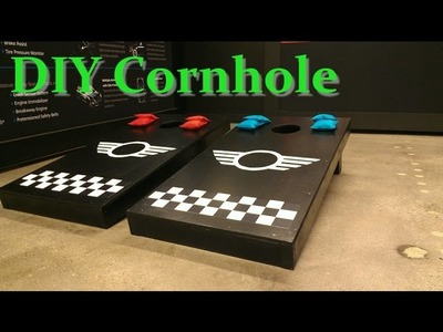 Cornhole set - DIY Tutorial