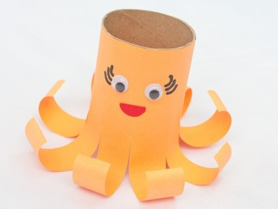 Create a Cute Toilet Paper Roll Octopus - DIY Crafts - Guidecentral
