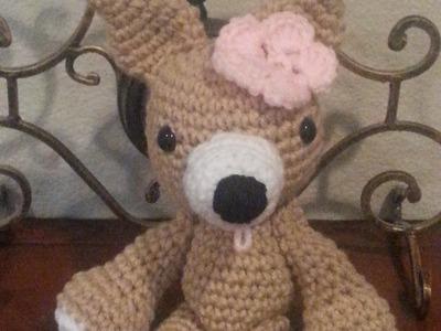 Crochet Chihuahua part 1 DIY tutorial