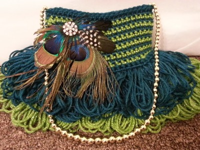 #Crochet Handbag Purse #TUTORIAL #DIY Crochet Bag Pretty Handbag