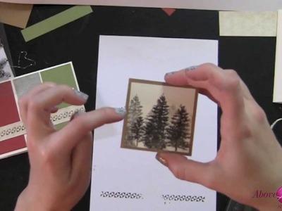 Day 10 3 Easy Handmade Christmas Cards CTMH Card Making Kit