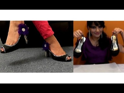 Decorate your old shoes and turn them into Princess Glam Shoes. DIY .