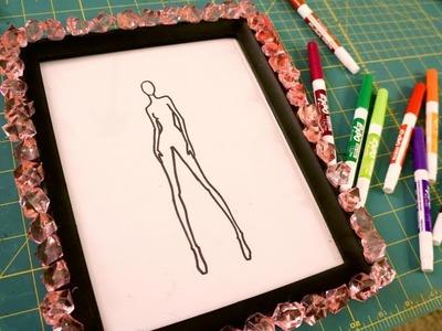 DIY Croquis Whiteboard for Fashion Design