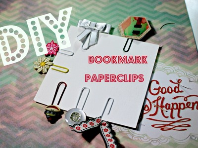 DIY ✄ Easy Bookmark Paperclips: 6 Ways!