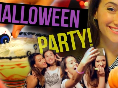 DIY Halloween Party (Collab w. MayBaby, Macbby, and SierraMarieMakeup)