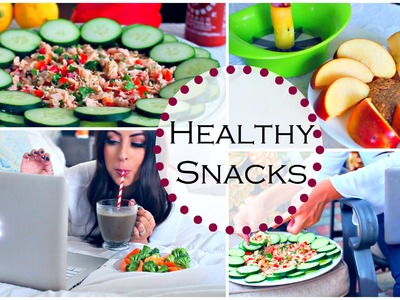 DIY Healthy After School Snack Ideas, Super Quick