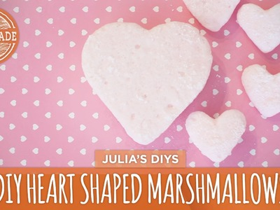 DIY Heart Shaped Marshmallows - HGTV Handmade