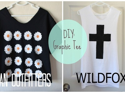 ✂ DIY: High End Graphic Tees