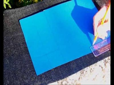 DIY How to make a Paper Box - Cómo hacer una caja de cartulina