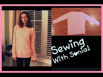 DIY: Make Your Own Oversized Sweater. Sewing for Beginners