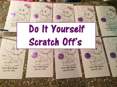 DIY Scratch Off's