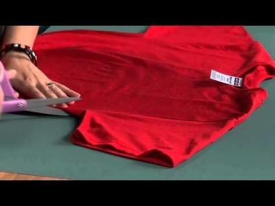 DIY T-shirt Shoulder Bag