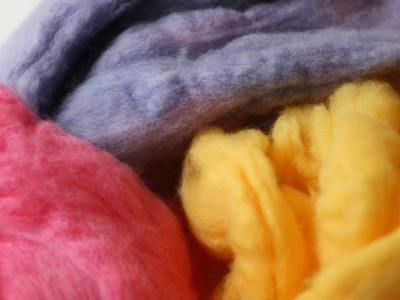 Dye Wool Fleece for Felting - DIY Crafts - Guidecentral