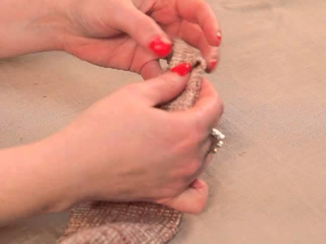 Fabric.com - How To Make a Fabric Flower