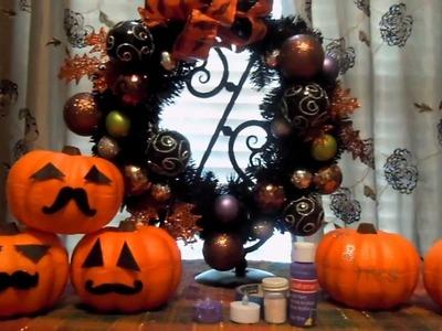 Fall & Halloween DIY Crafts