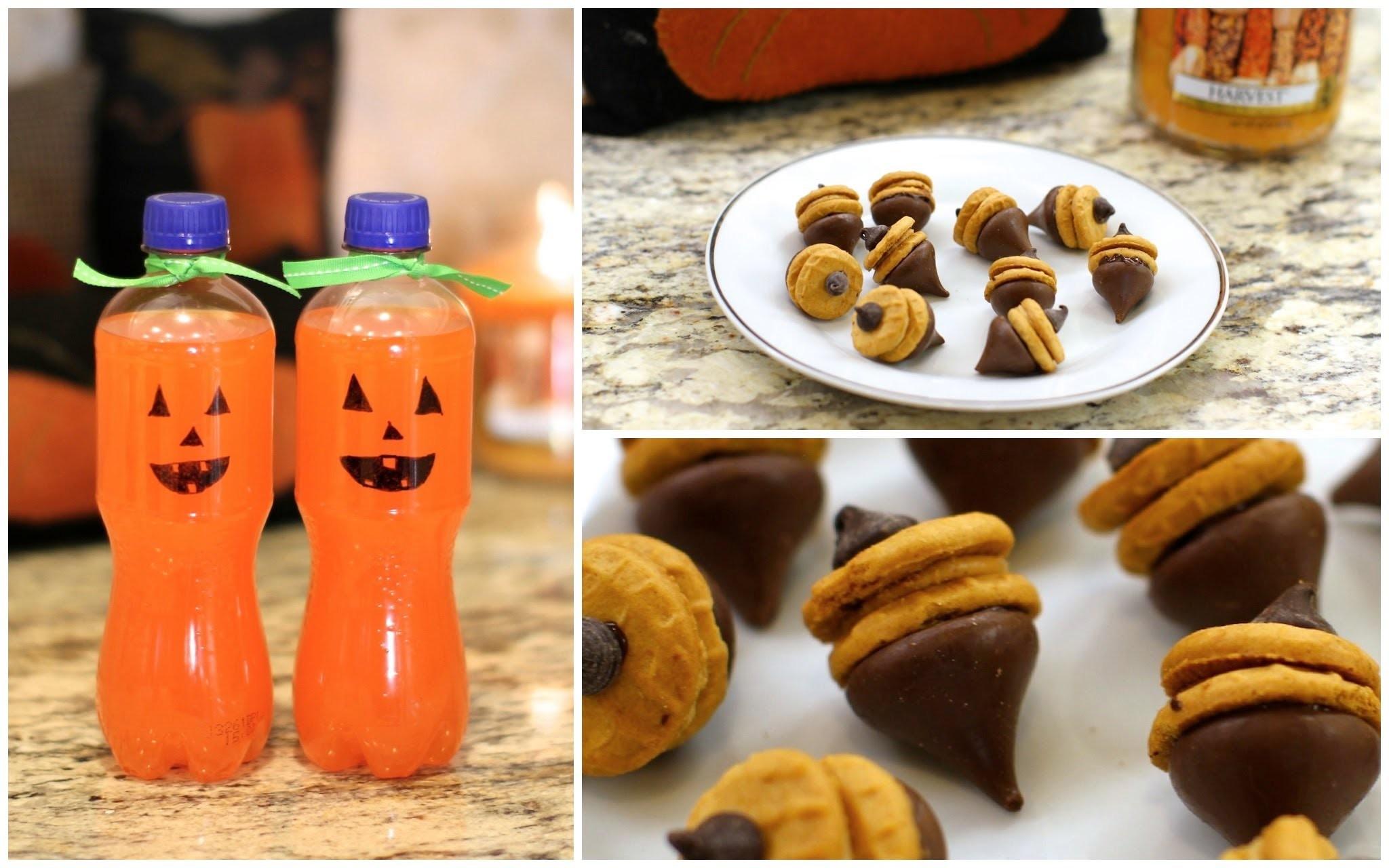 Fall Treats | DIY Autumn Party Food Ideas