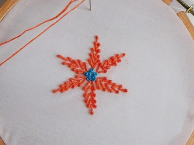 Hand Embroidery: Pollin Stitch