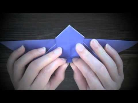 How To Create Origami Bat For Halloween
