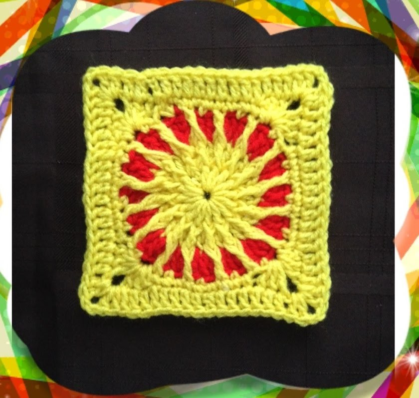 How to Crochet a Granny Square Pattern #7 │by ThePatterfamily