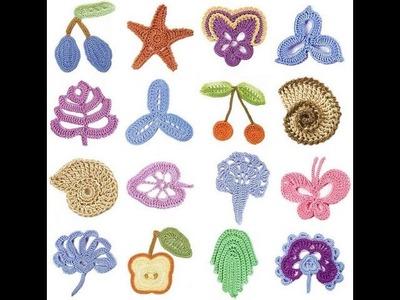 How to crochet irish crochet motifs free pattern