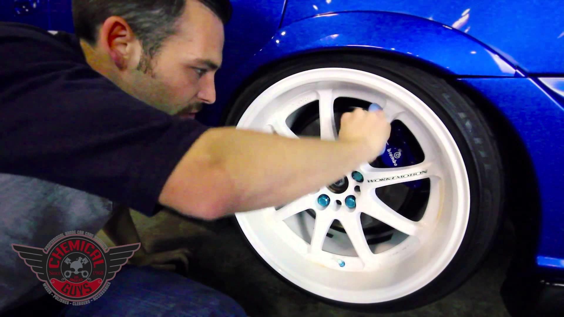 How To: Detail White Wheels - Chemical Guys Car Care Subaru STi Work Emotion