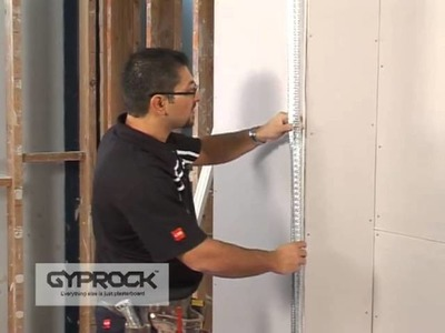 How to install Gyprock Part 2 -  Fixing to Corners