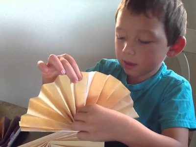 How To Make A Chinese Paper Folding Fan