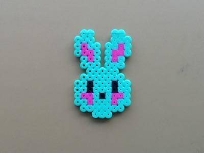How to Make a Perler Bead Bunny