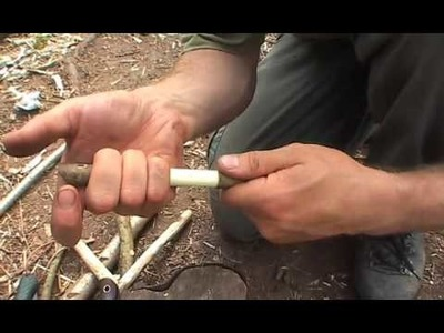 How to make a whistle from a twig