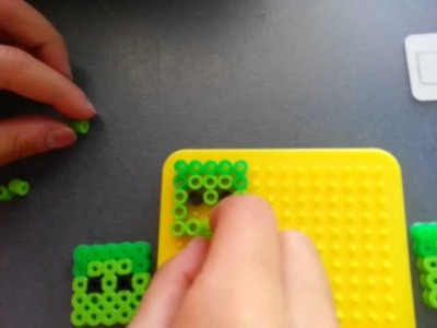 How to make a zombie with perler beads