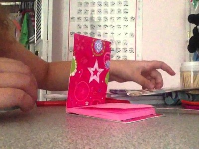 How to make an American girl doll scrapbook