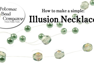 How to Make Fast & Simple Illusion Necklace