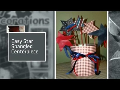 How to Make July 4th Decorations 8 Patriotic Craft Tutorials eBook