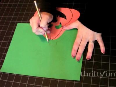 How to Make Paper Jack-O-Lanterns