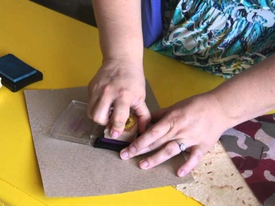 How to Make Personalized Stationery From Organic Paper : Scrapbooking & Other Crafts