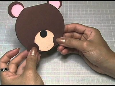 KUKU CARD Teddy Bear Invitation (Osito)