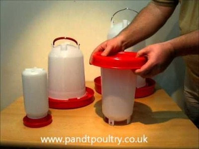 Plastic Chicken Drinkers