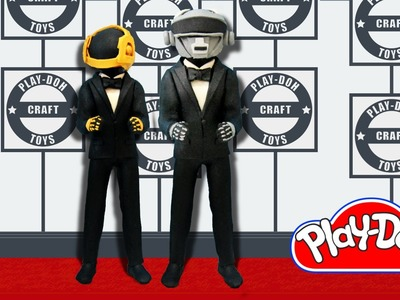 Play Doh Daft Punk Inspired Costume Play-Doh Craft N Toys